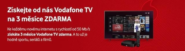Vodafone TV zdarma