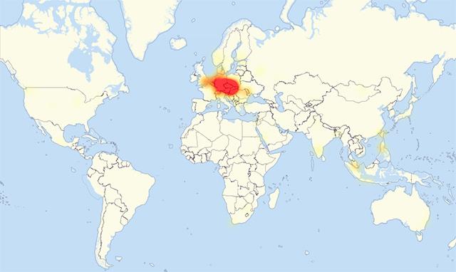 Výpadek Googlu v ČR