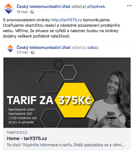 ČTÚ_Facebook