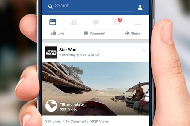 Facebook představil 360° video