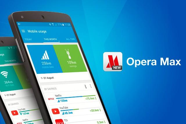 Šetřete data saplikací Opera Max