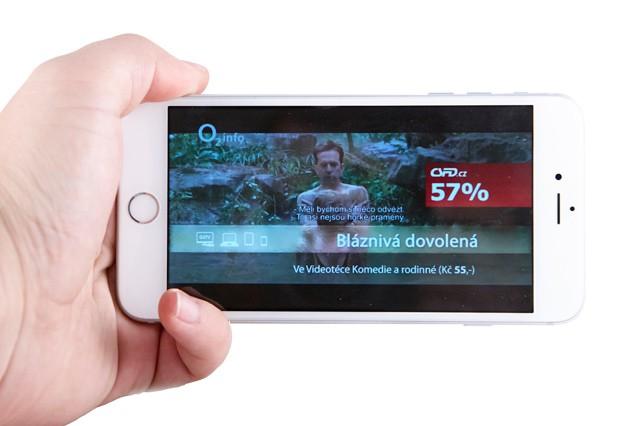 Recenze mobilní O2 TV