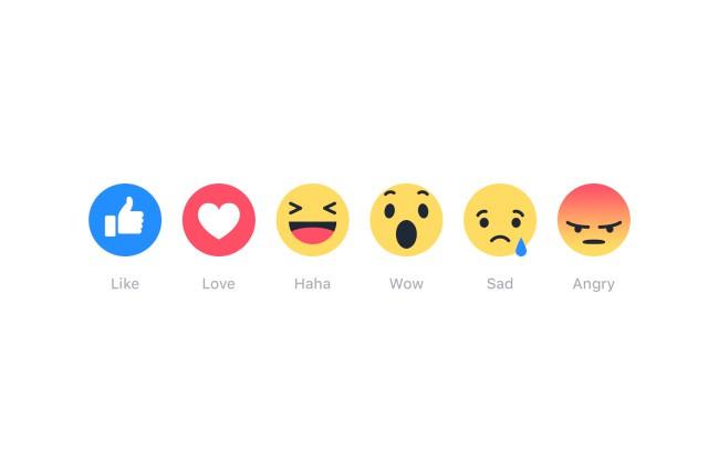 Facebook zpřístupnil smajlíky u tlačítka LIKE všem uživatelům!