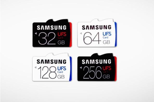 Samsung představuje rychlé paměťové karty UFS