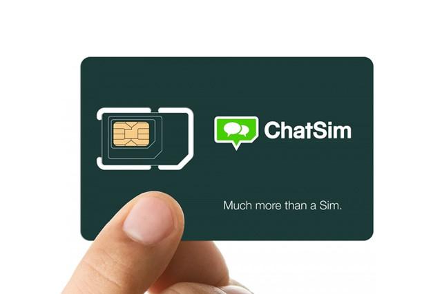 Chatujte s ChatSim neomezeně i v zahraničí