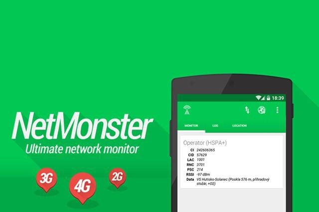 NetMonster vám poradí, kde najít mobilní vysílače