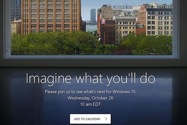 Microsoft se chystá představit novinky