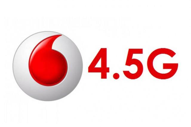 Vodafone otestoval technologii 4,5G