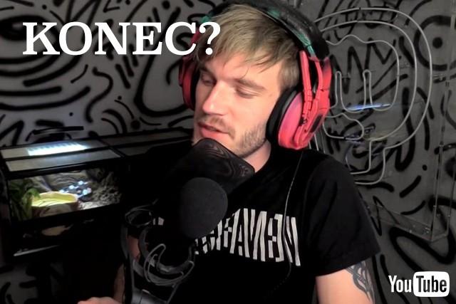 PewDiePie smaže svůj kanál na YouTube