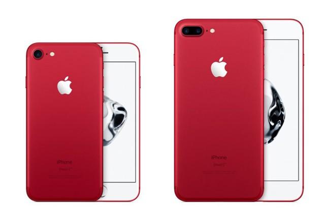 Apple představil novou červenou edici iPhonů