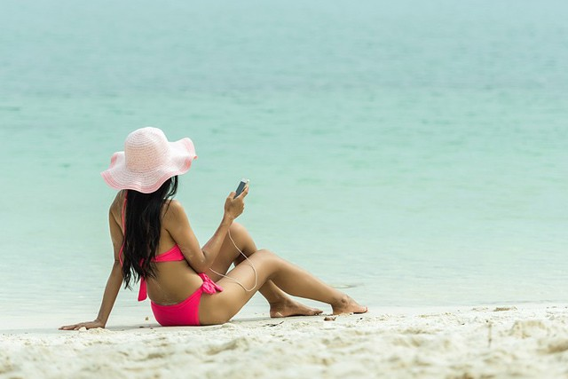 Připojte se kinternetu i na pláži