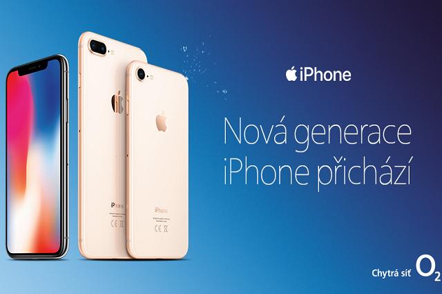 Předobjednejte si nejnovější iPhone u O2 právě dnes!