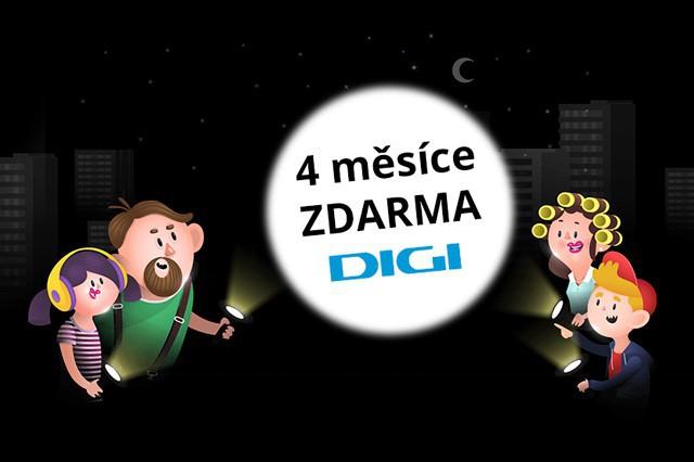 Pořiďte si Digi TV na zimu zdarma!