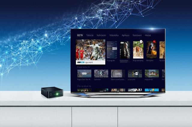 O2 TV mění vzhled svého webu podle prostředí set-top boxu