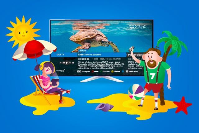 Digi TV: Všechny programy na 3 měsíce zcela zdarma!