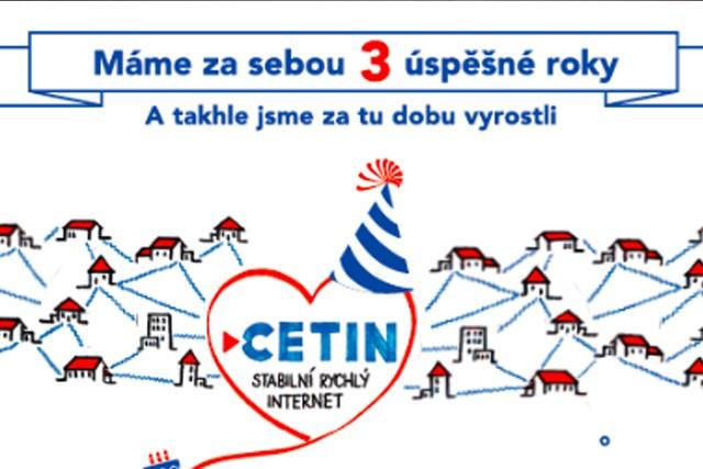 CETIN: Dvojnásobná rychlost přípojek a 99% pokrytí LTE