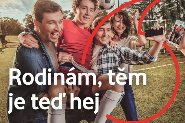 Vodafone má novou kampaň k návratu do školy