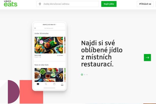 Nová appka Uber Eats! Ustojí to DámeJídlo.cz?
