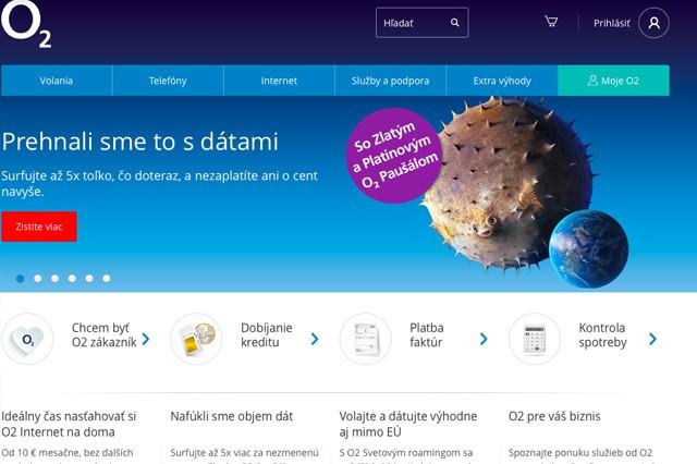 Slovenské O2: 5krát více dat za stejnou cenu
