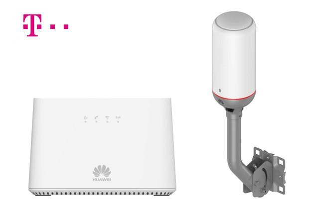 T-Mobile má nový modem pro Pevný internet vzduchem