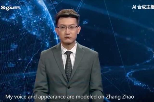 V Číně hlásá zprávy umělá inteligence