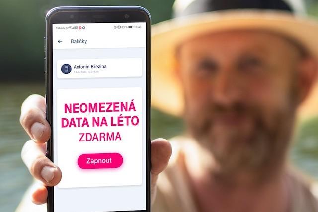 Neomezený internet na léto za 200 korun? Otestovali jsme nový balíček od T-Mobilu!