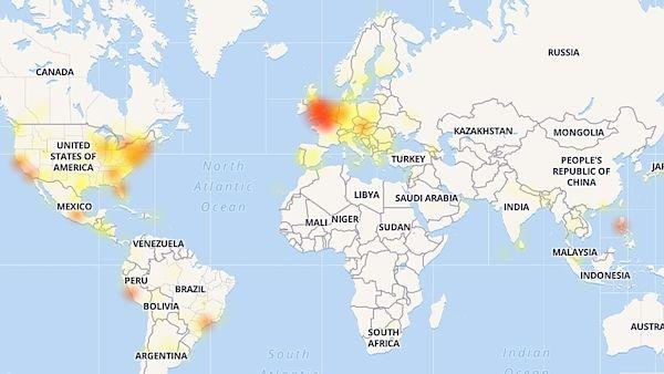 Chyba není u vás: Facebook, Instagram, Messenger a WhatsApp mají výpadek