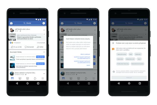 Facebook u nás začne regulovat fake news