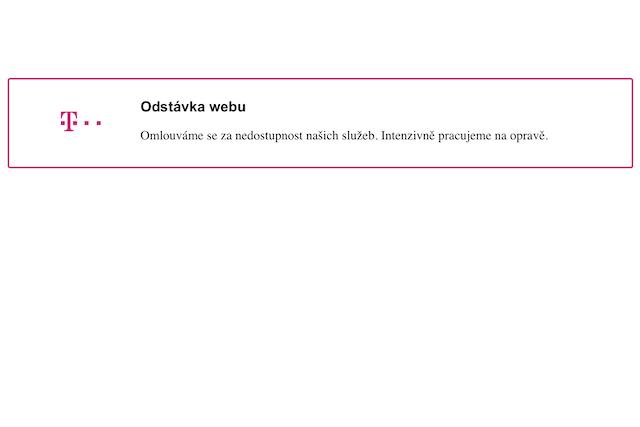T-Mobile zasáhl dvoudenní výpadek interních systémů