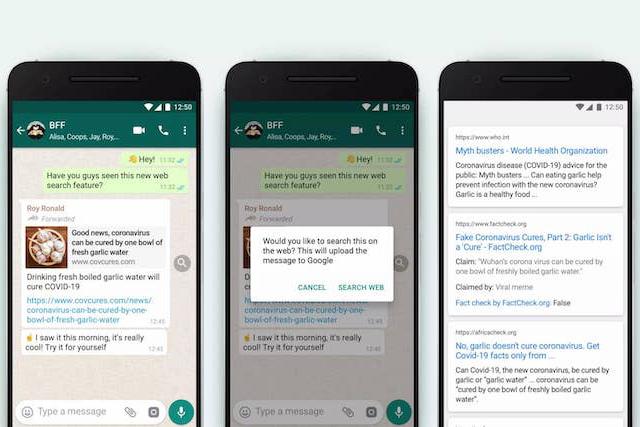 WhatsApp bojuje proti fake news: nabídne ověření informací ve zprávách