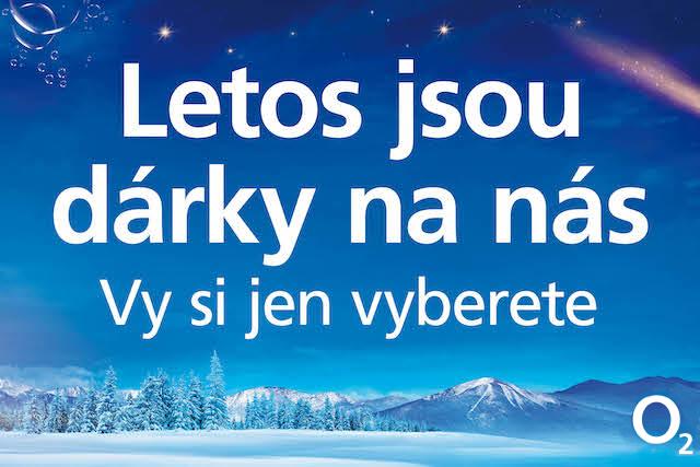 O2 spouští vánoční kampaň
