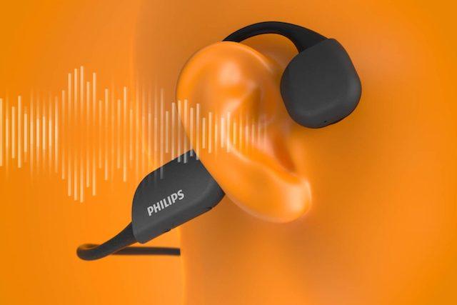 Philips představil sluchátka, která přenáší zvuk přes kosti