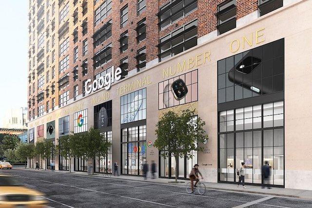 Google otevírá první kamenný obchod v New Yorku