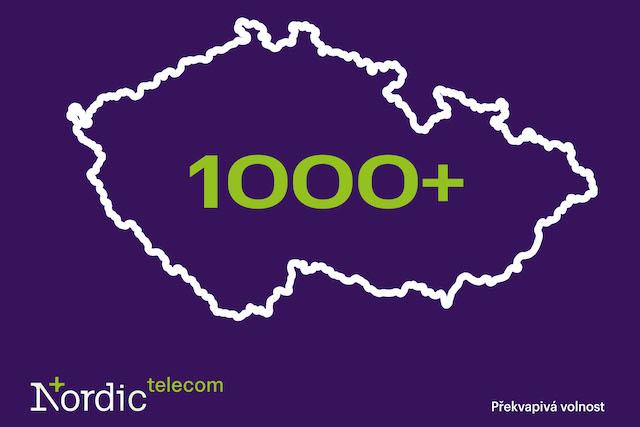 Nordic Telecom má už 1000 vysílačů a pokrývá 1,6 milionu domácností