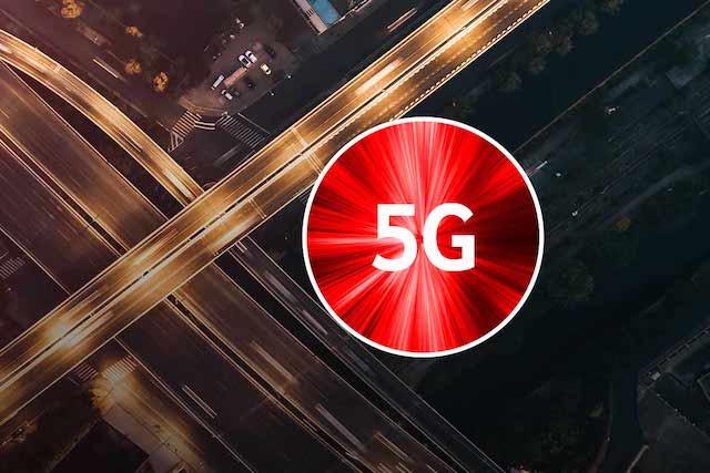 Samsung bude dodávat zařízení pro 5G sítě britskému Vodafonu