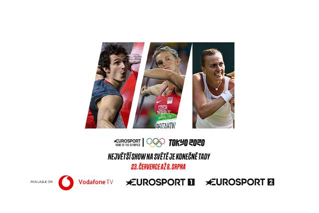 Vodafone TV nabídne divákům 7 olympijských programů zdarma