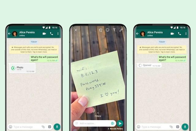WhatsApp nabídne funkci jednorázového zobrazení fotek a videí