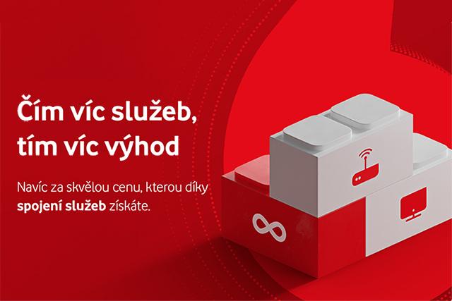Sleva na UPC internet, neomezená data za 499 Kč nebo Vodafone TV na 3 měsíce zdarma? Vodafone představil novou akci