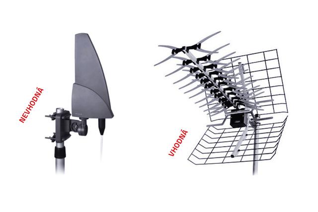 ČTÚ upozornil na nekvalitní antény, způsobují problémy s příjmem DVB-T2