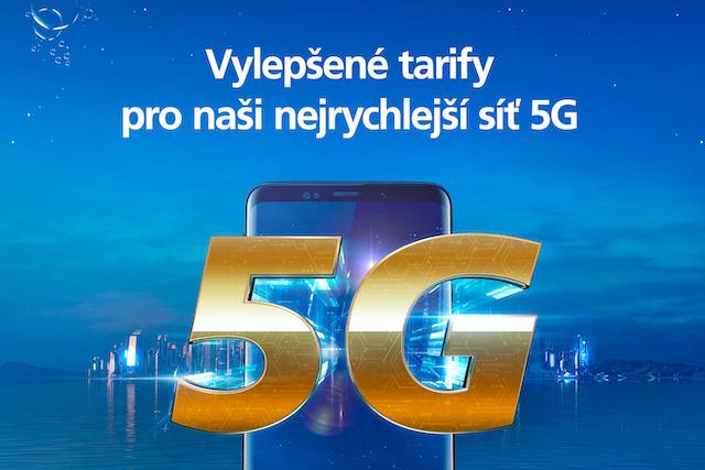 O2 přidalo 5G do všech tarifů a zrychlilo neomezená data