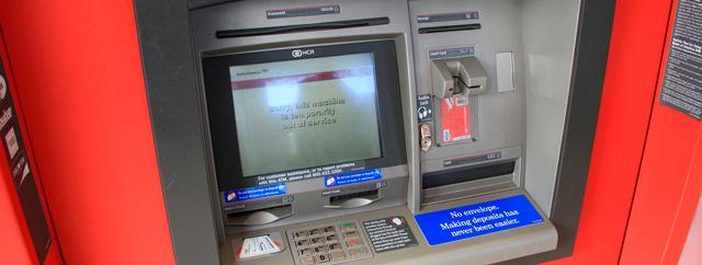 Začalo to bankomatem