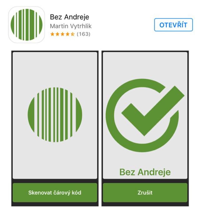 Aplikace Bez Andreje