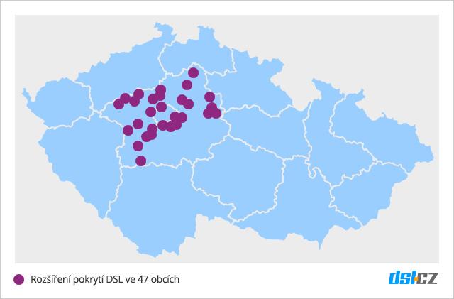 Zrychlování DSL v září ve Středočeském kraji a v Praze