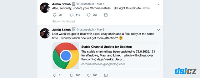 Chrome-obsahuje-chybu
