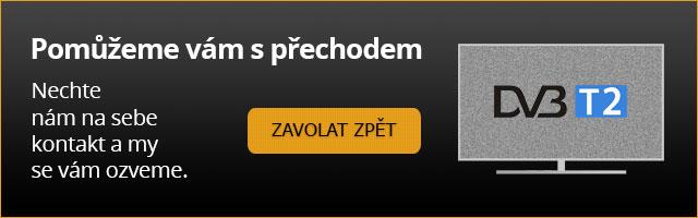 Pomůžeme vám s přechodem na DVB-T2