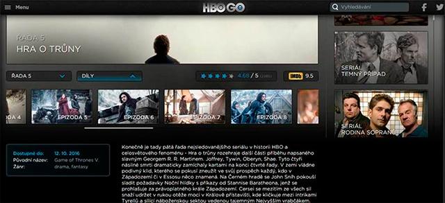 HBO GO epizody