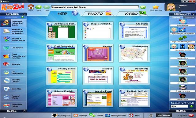 KidZui - internetový prohlížeč pro děti