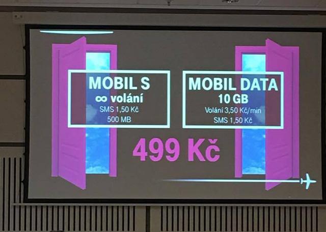 T-Mobile nové tarify Mobil Data a Mobil S