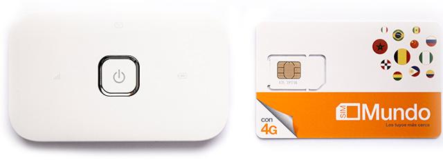 Mundo SIM + modem Huawei E5573