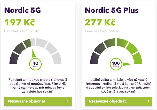 Nordic 5G Plus - 50% sleva
